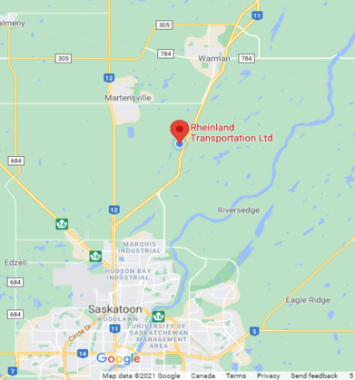 Trucking Company Map Location